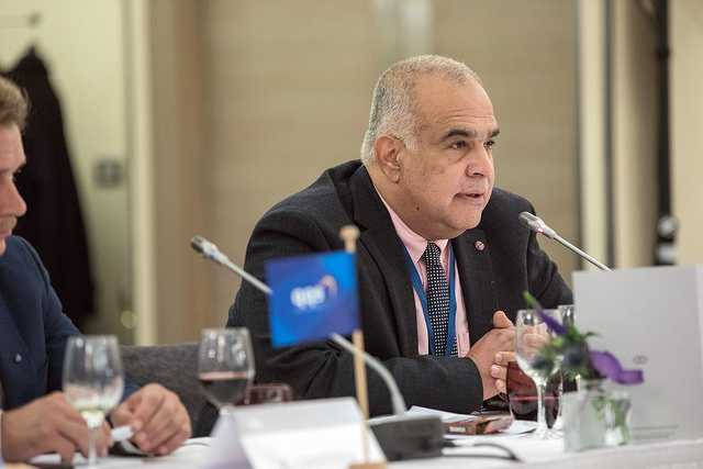 Raffi Hovannisian made a speech in Brussels