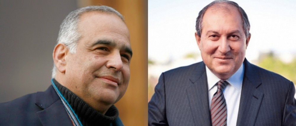 ARMEN SARKISSIAN-RAFFI HOVANNISIAN MEETING